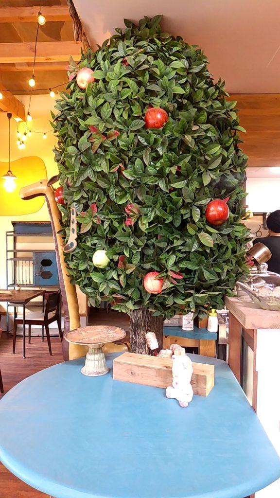 おうちカフェaiaiリンゴの木