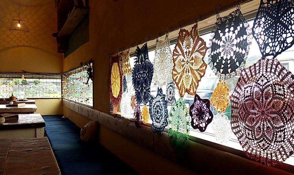 おうちカフェaiai窓のコースター