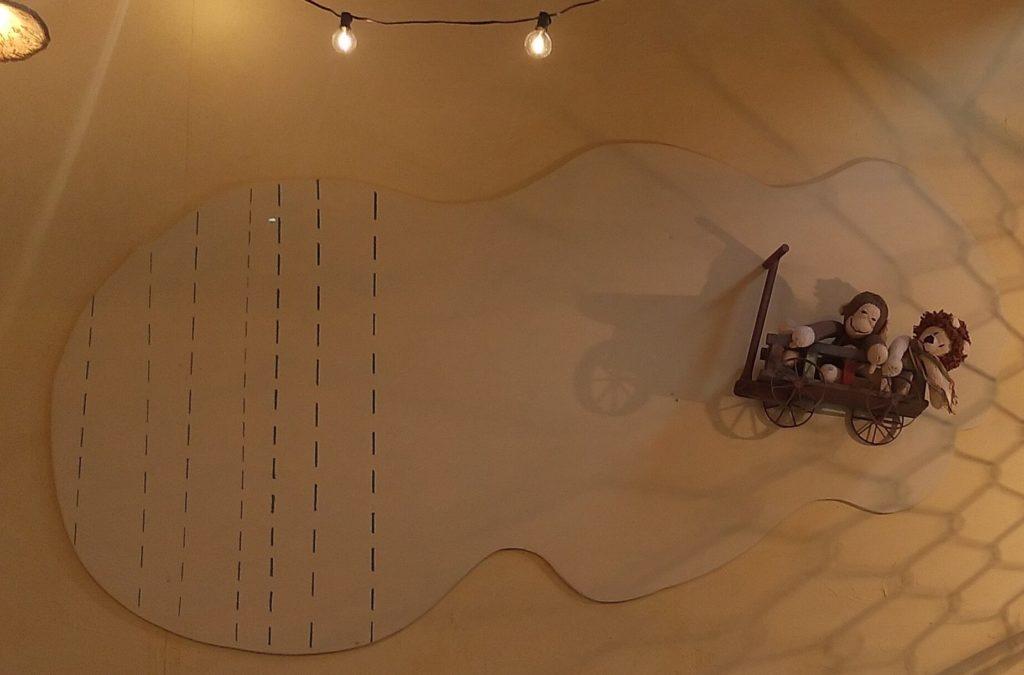おうちカフェaiai壁の猿