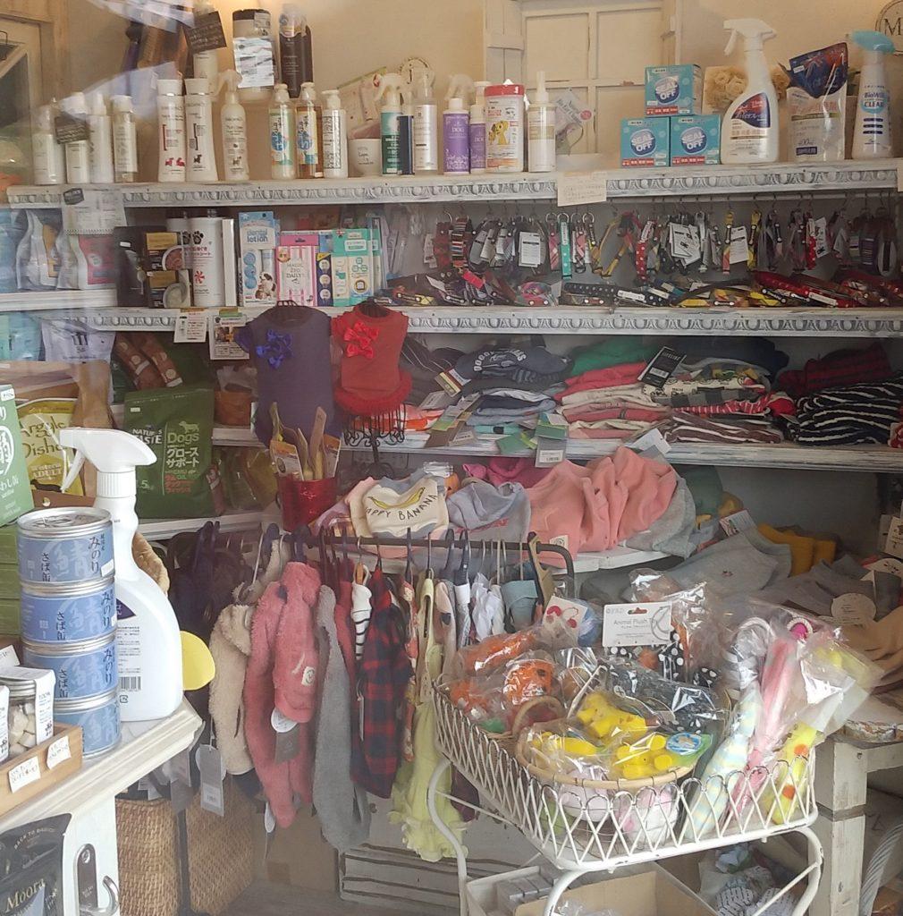 『Dog salon Mashuri』店内