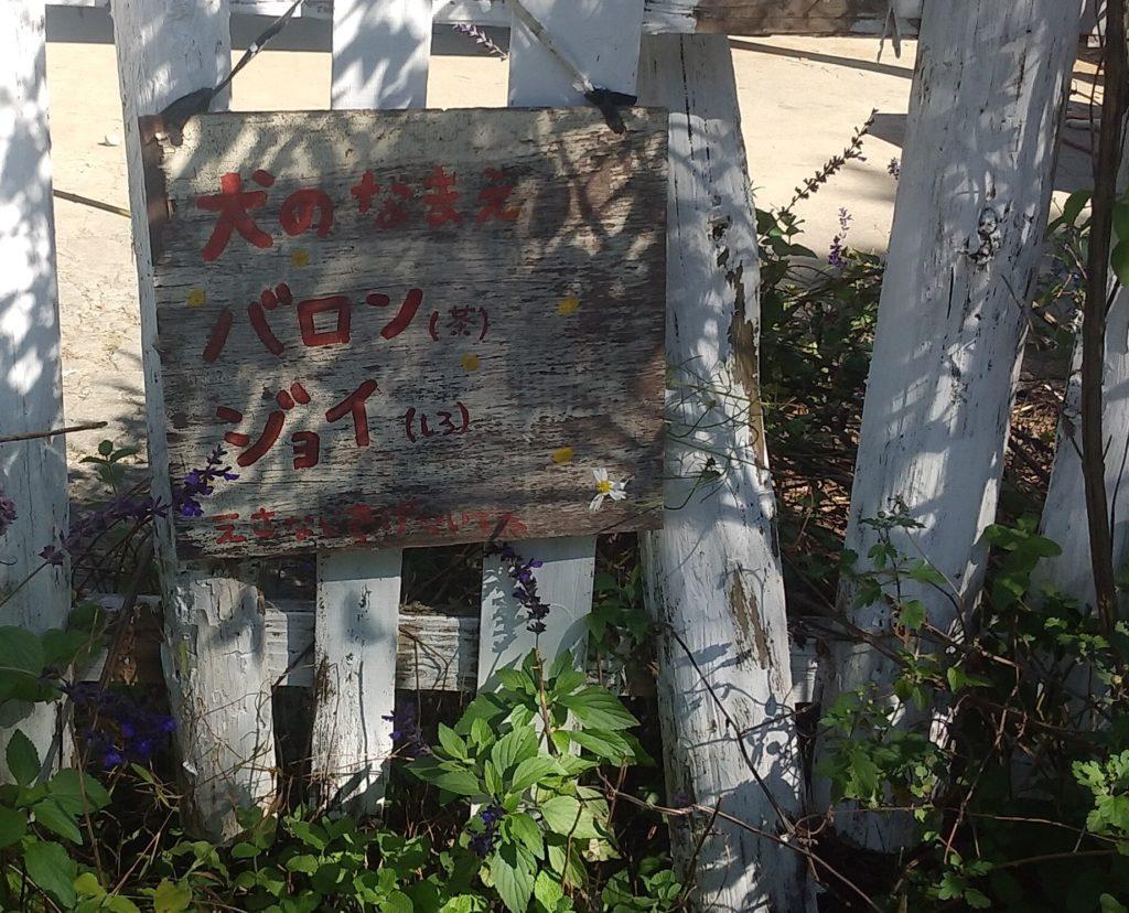 『DEER LAND FARM 岡﨑牧場』犬の名前