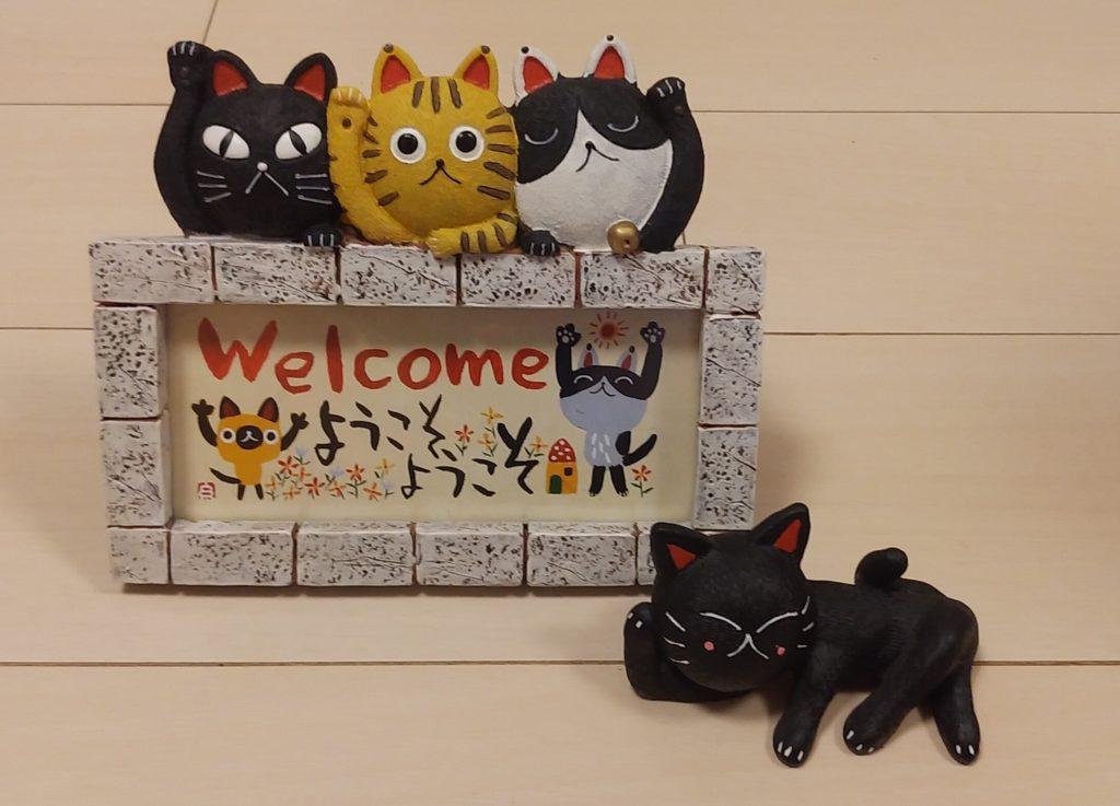 糸井忠晴さんの猫フレーム2