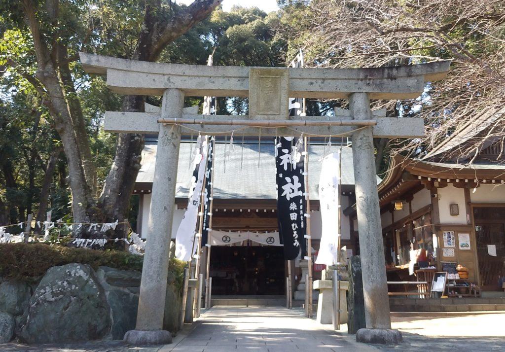 『王子神社』鳥居