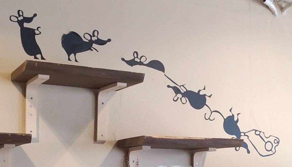 『猫カフェ ねこちゃる』ねずみの絵