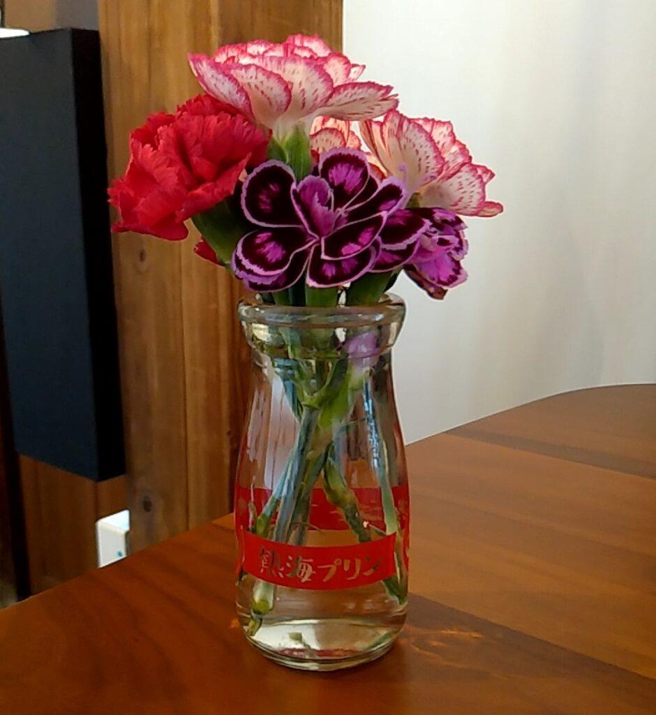 穐の実花瓶