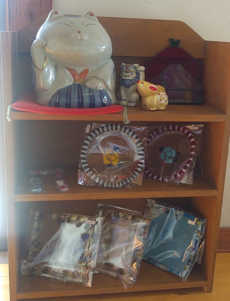 小豆カフェあんこ飾り棚