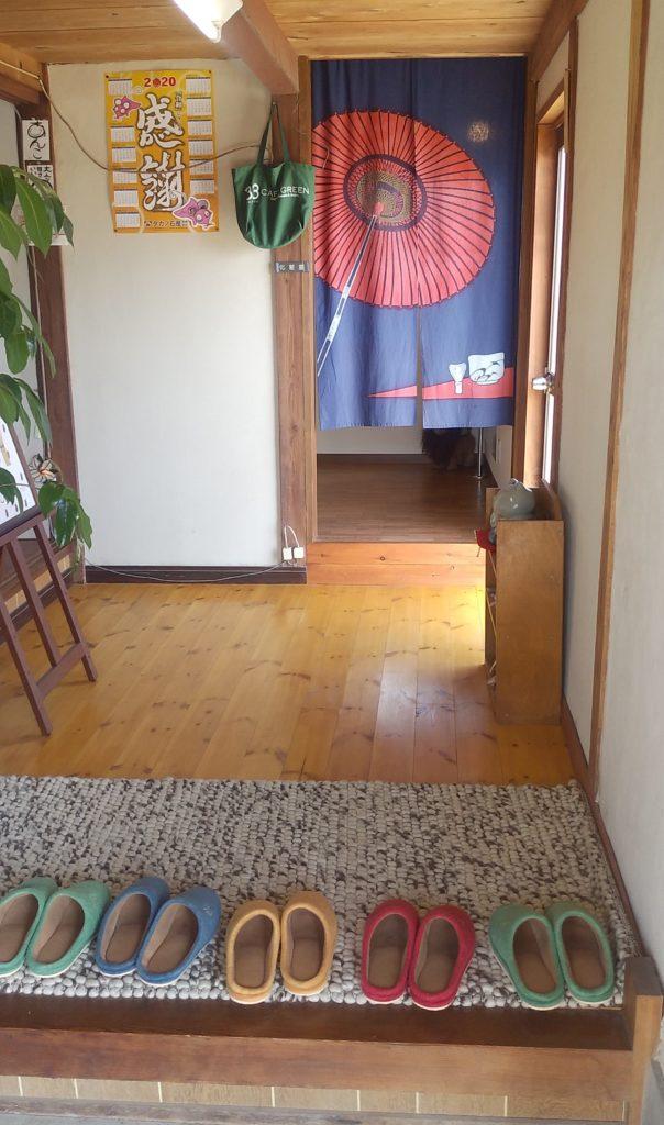 小豆カフェあんこ玄関