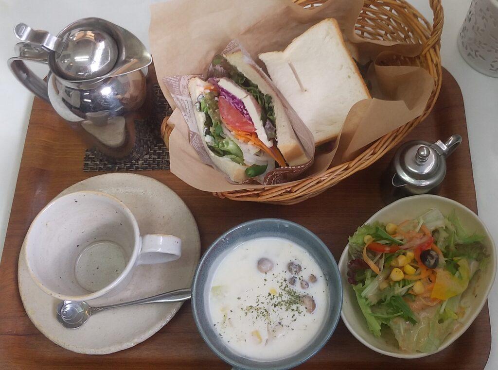 陶花サンドイッチ