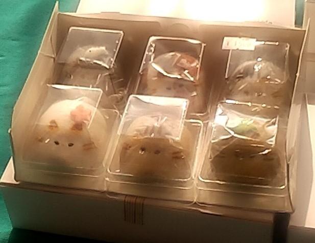 『スイーツカフェ クイール』猫まんじゅう