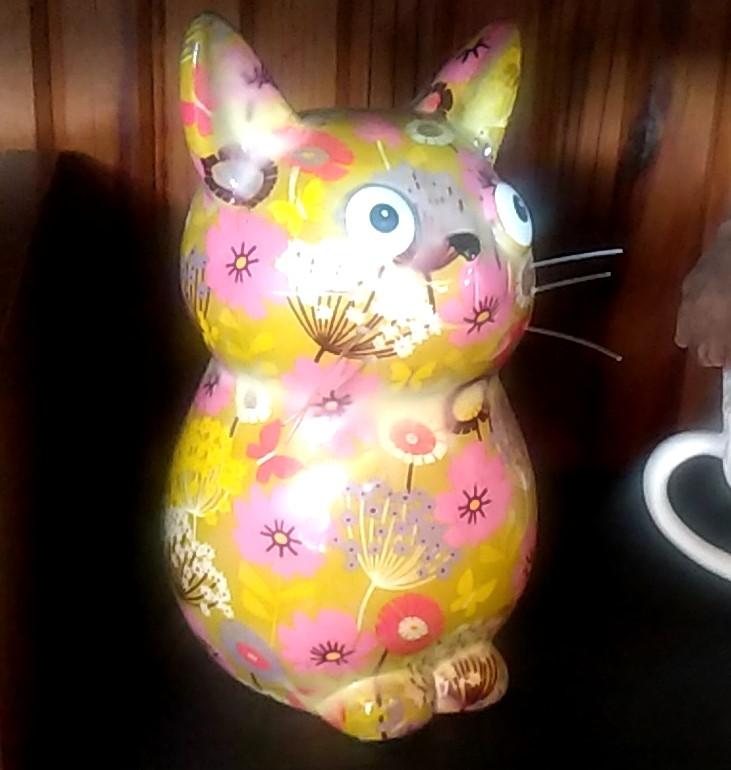 『スイーツカフェ クイール』猫の飾り2