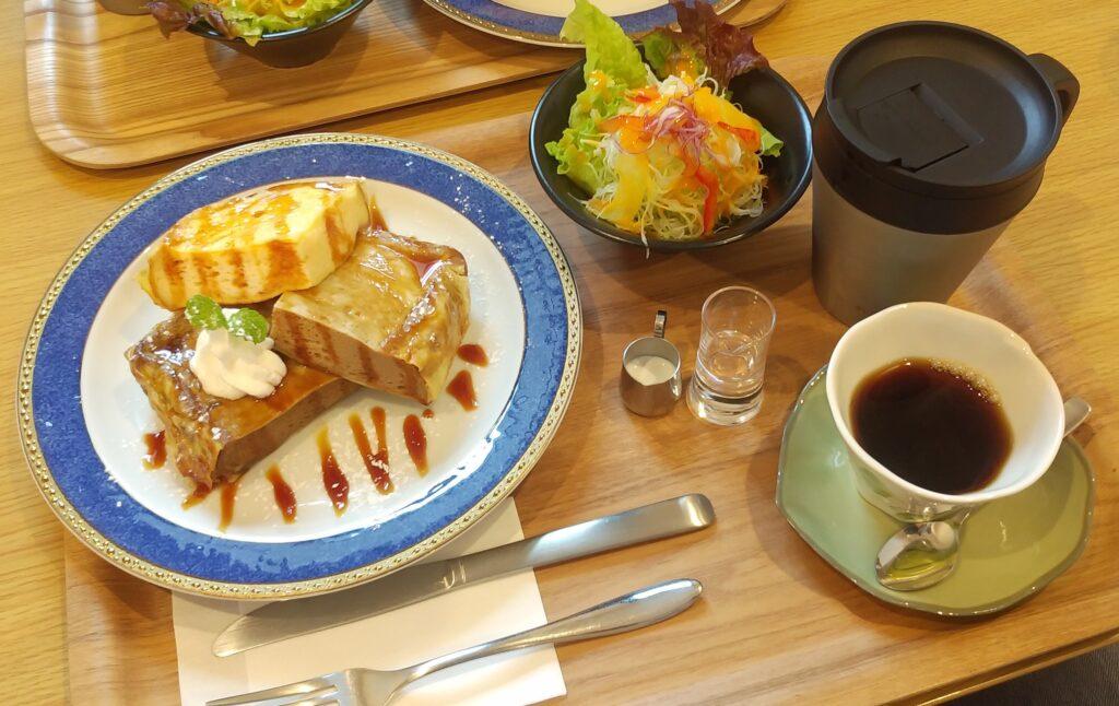 ピボットカフェのフレンチトースト