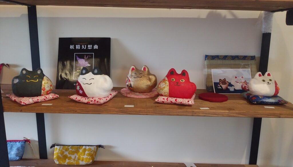 『夢心花(ゆめここは)』猫雑貨