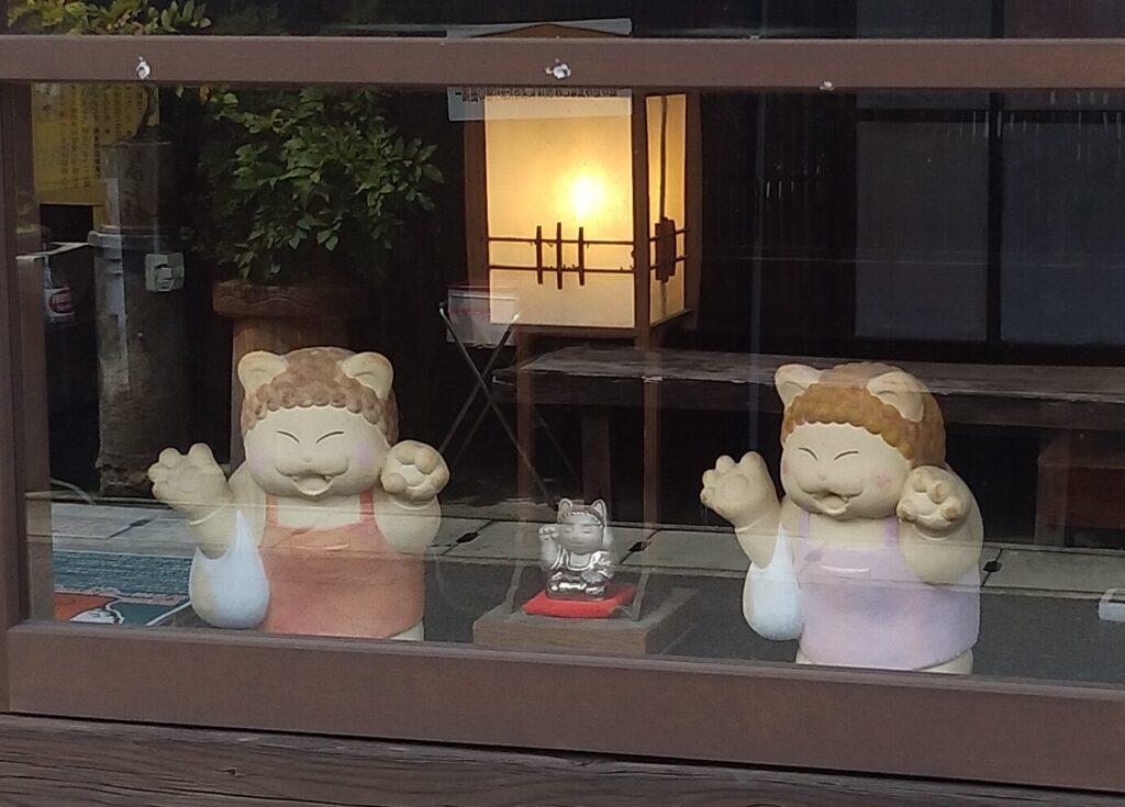清水温泉猫のおばちゃん