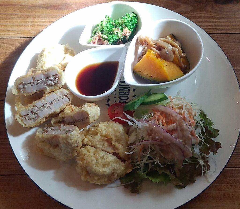 cafe歩笑(ぽえむ)日替わりランチ2